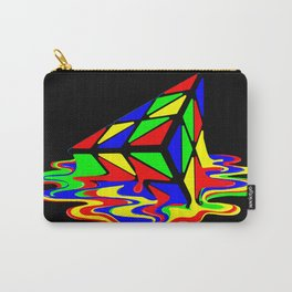 Pyraminx cude painting01B Carry-All Pouch