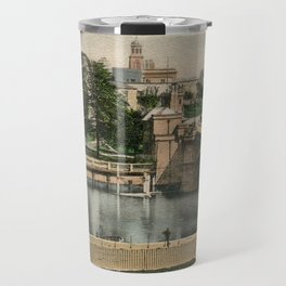York general view and castle 1900 Travel Mug
