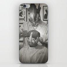 Cyber Barber iPhone & iPod Skin