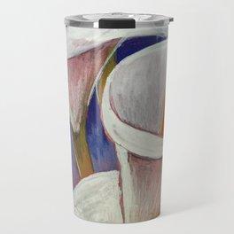 Arum Lilies Travel Mug