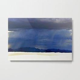 White Sands II Metal Print