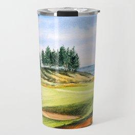 Gleneagles Kings Golf Course Scotland Travel Mug