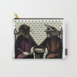 Crow ladies Carry-All Pouch