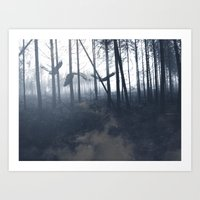 After the fire I Art Print