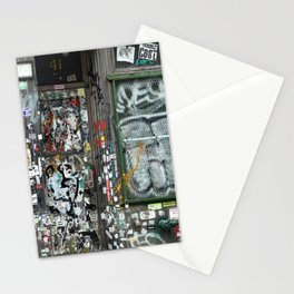 On Bleecker street, East Village | NYC Stationery Cards