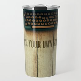 write your own story II Travel Mug
