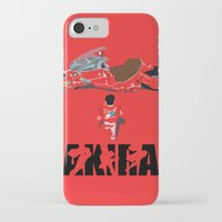 akira iPhone & iPod Cases featuring Akira by Pocketmoon designs