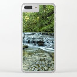 Ledge Falls, No. 2 Clear iPhone Case