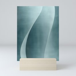 Double Wave Mini Art Print