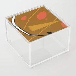 Collage de abstract Acrylic Box