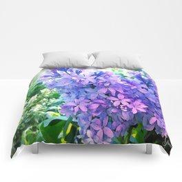Lilacs in Bloom Comforters