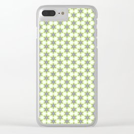 Pattern fashion art background style drawing illustration ornament wallpaper valentine day Clear iPhone Case