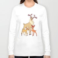 legolas Long Sleeve T-shirts featuring Elven Deer by rdjpwns