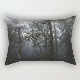FOREST FOG Rectangular Pillow
