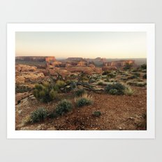 Monument Valley Morning Art Print