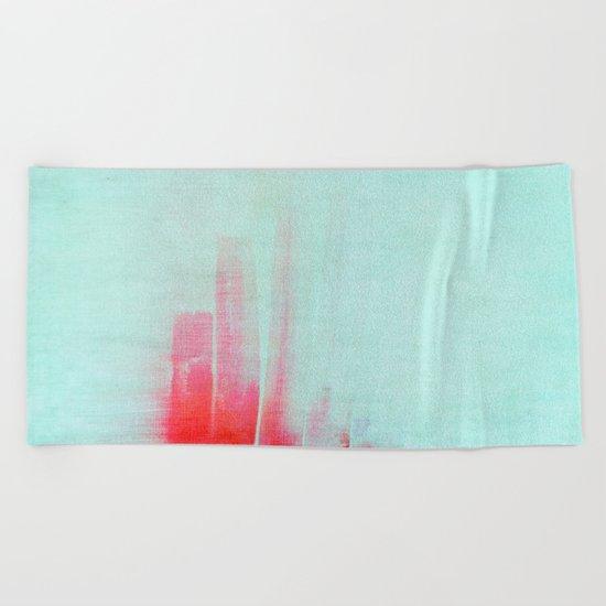 minimalism Beach Towel