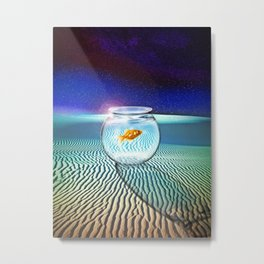 The Tourist Metal Print