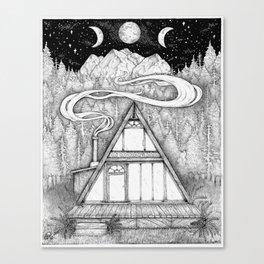 Dwelling Canvas Print