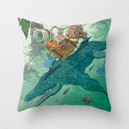 Tropiques Throw Pillow