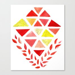 Geometric Dreams Canvas Print