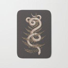 The Snake and Fern Bath Mat