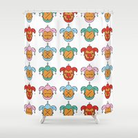 joker Shower Curtains featuring Joker by Hugo Portinha
