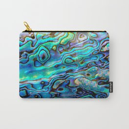 Precious Abalone shell Carry-All Pouch