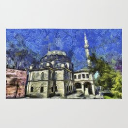 Istanbul Mosque Van Gogh Rug