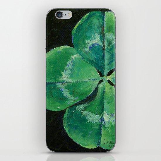 Shamrock iPhone & iPod Skin