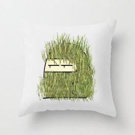Ghillie Suit Ninja Throw Pillow