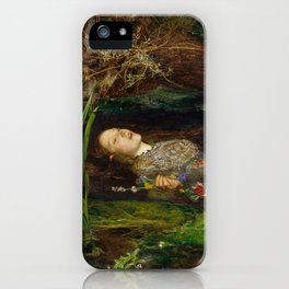 Ophelia, John Everett Millais iPhone Case