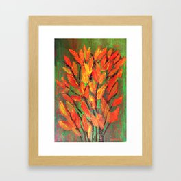 Autumn Leaves 3 Framed Art Print