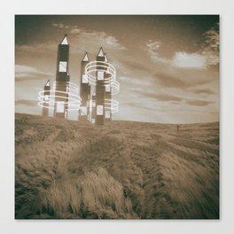 Nostalgic Subconscious Canvas Print
