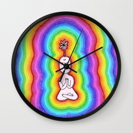 WATER YOUR THOUGHTS Wall Clock