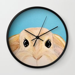 Disapproving Lop Wall Clock