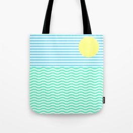Coastline (Sunrise Blue) Tote Bag