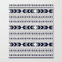Tribal Arrow Boho Pattern #3 #aztec #decor #art #society6 Canvas Print