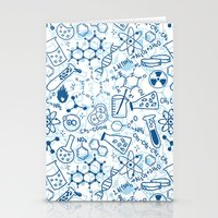 chemistry Stationery Cards featuring Chemistry by SandiTyche