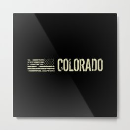 Black Flag: Colorado Metal Print
