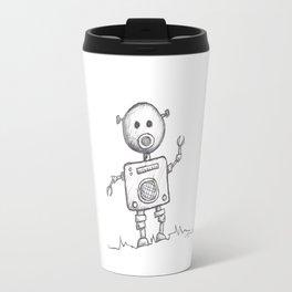 Piggy Bot Travel Mug
