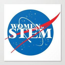 Women in STEM Canvas Print