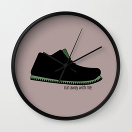 run away with me Wall Clock