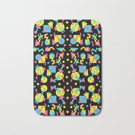 Party Pattern Bath Mat