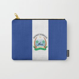 Flag of Abidjan Carry-All Pouch