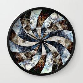 Space Odyssey - Black Hole Wall Clock