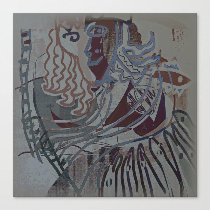 The Piano Girl 2 / Memories / Follies Collection Canvas Print