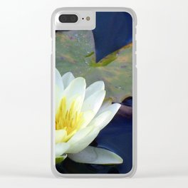 Water Lilly 2 Clear iPhone Case