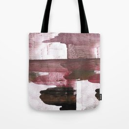 Red Black clouded watercolor texture Tote Bag