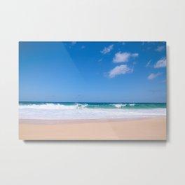 Big waves at Banzai Pipeline, North Shore Oahu, Hawaii | Sea Nature Landscape Travel Photography Art Print Metal Print