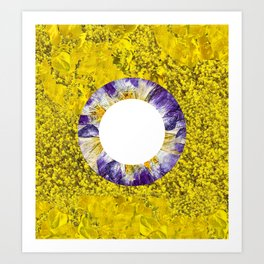 Floral Blooms I Art Print